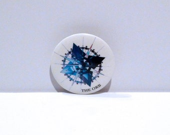 The Orb Band Pinback Vintage Badge Pomme Fritz Button Backpack Pin 1994 Electronic Ambient Experimental Music Alternative Music Jimmy Cauty