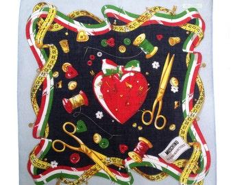 Moschino heart printed scarf