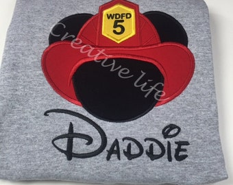Disney - Fire Fighter - Personalized - Adult