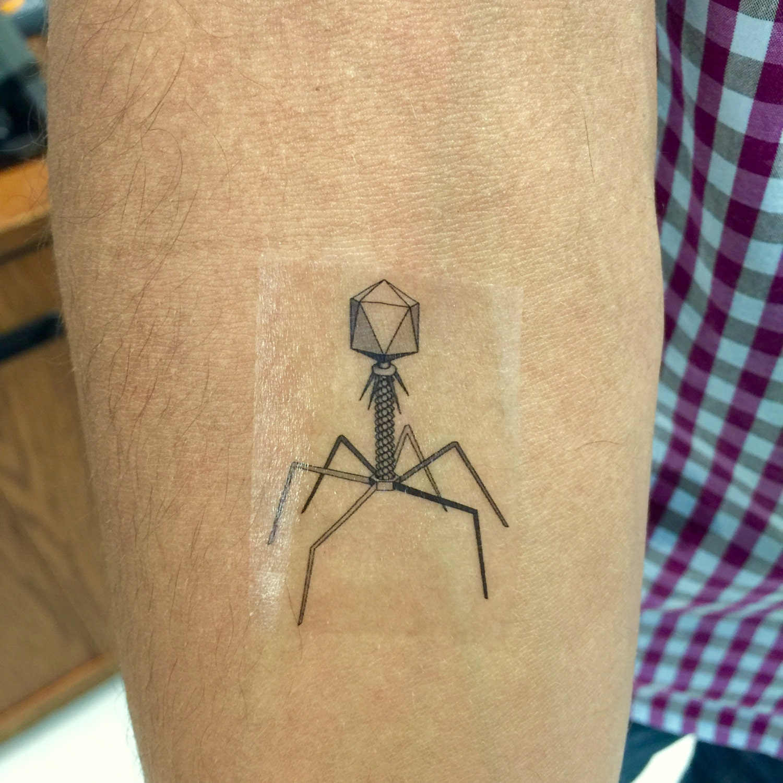 Microbiology tattoos