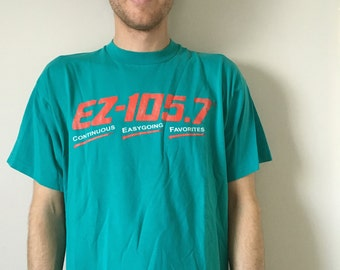 Vintage EZ-105.7 Radio Station T-Shirt