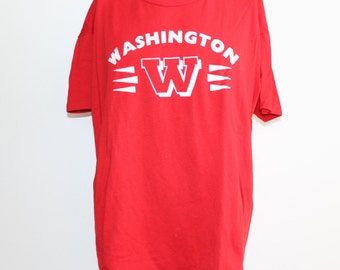 Vintage 1990's Washington T-Shirt XL