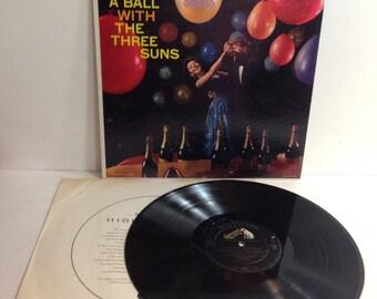 The Three Suns Having A Ball 30 Songs Vintage Vinyl Record Album lp 1959 RCA Victor Records LPM 1734