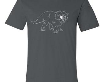 Triceratops T Shirt, Dinosaur, Dino Shirt