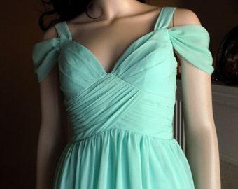 Mint bridesmaid dress, mint dress