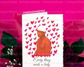Every Thug Needs a Lady Valentine (May not arrive in time for Valentine's Day 2/14/2016 Unless you check out with Express Shipping)