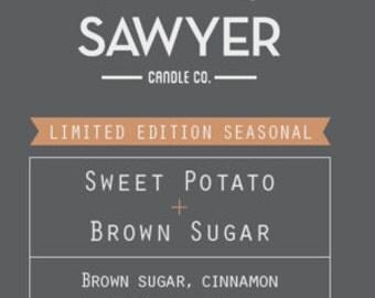 Sweet Potato Brown Sugar  Seasonal Soy Candle