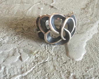 Sterling Silver Large Ring