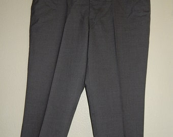 Joseph + Feiss 50/29 Wool Gray Mens Slacks/Pants India