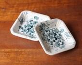 Stocking Stuffer Jewelry Dishes - Ironstone Butter Pats