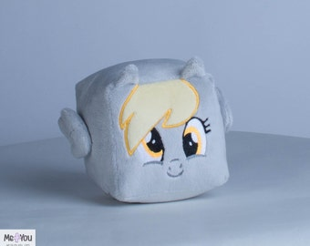 Derpy Hooves Plush Cube MLP