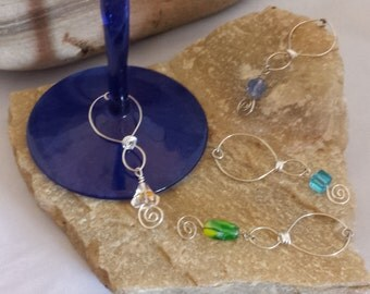 Wine Glass Jewelry