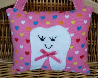 Tooth Fairy Pillow, Girl's Tooth Fairy Pillow
