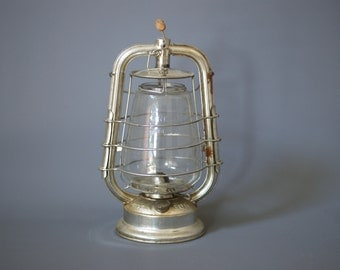 FROWO 420 Hurricane 'Mixed Air' Lantern, Made in East Germany, Antique Storm Lamp, Petroleum Lamp, East German Made Lantern, Made in GDR