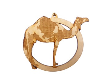 Camel Christmas Ornament - Camel Ornament -  Personalized Free