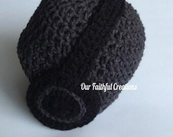 Crochet Headphone Hat