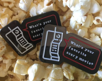 Scary Movie Limited Edition 90s Horror Movie Enamel Pin