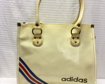 Vintage Adidas Bag, Shoulder Bag Purse, Free US shipping