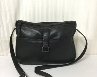 Toni leather purse,bag,bags purses,Black Leather ,Shoulder Bag