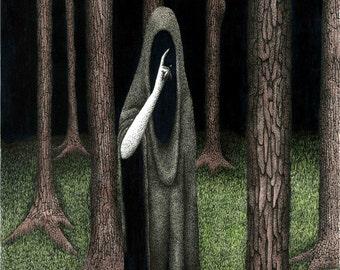 Dark art print - Sacrament by Propraetor