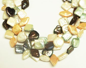 Cultured  Freshwater Pearl Mixed Shape Beads