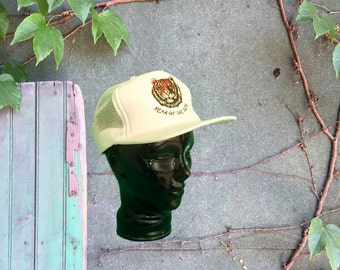 Year Of The Tiger 80's Trucker Hat - Chinese Astrology Baseball Hat
