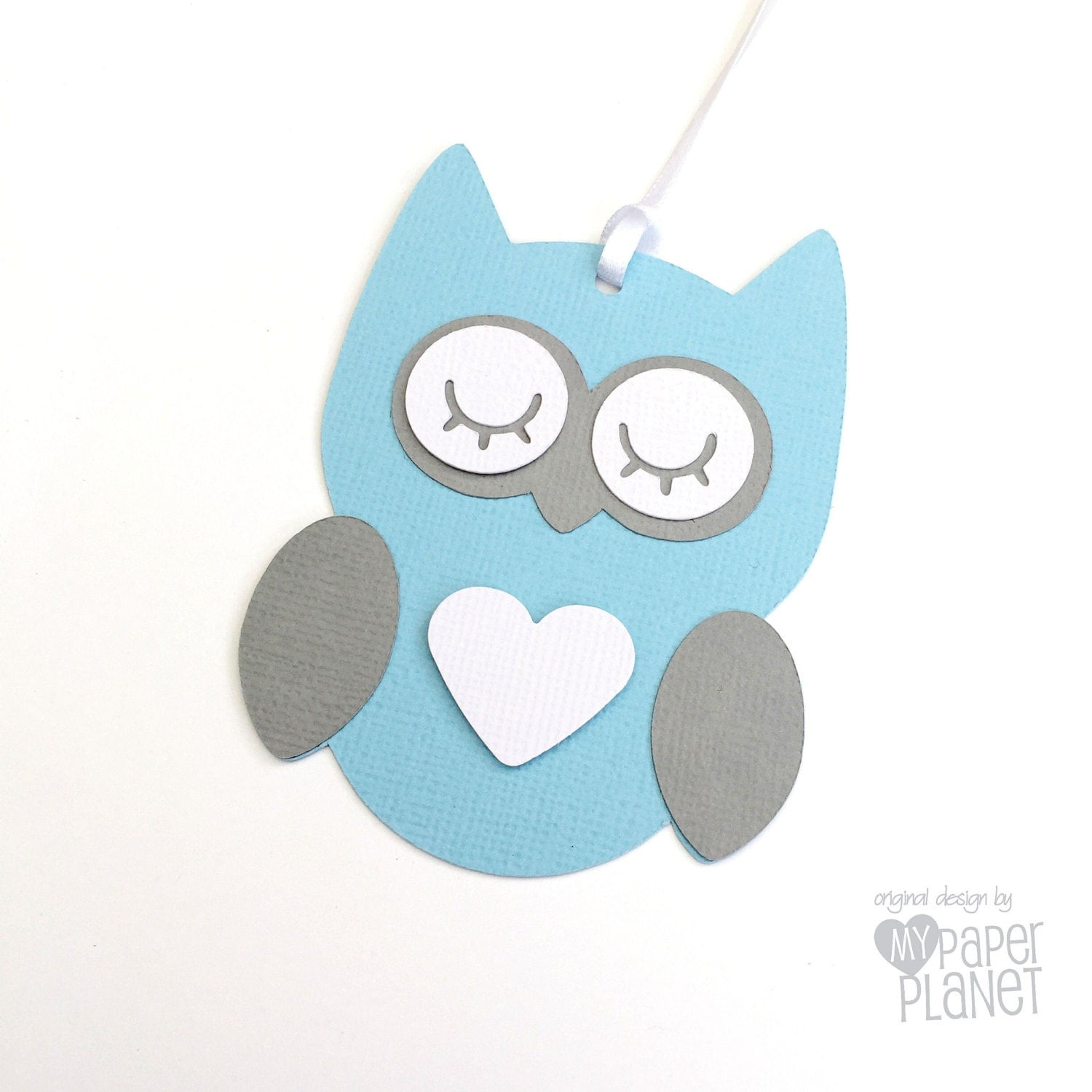 Owl Baby Gifts Australia : Blue owl baby shower gift tags and grey for gifts