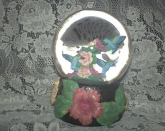 Hummingbird Musical Water Globe