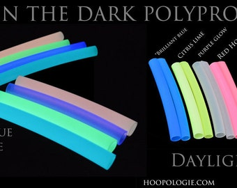 Glow in the Dark Polypro Hoop