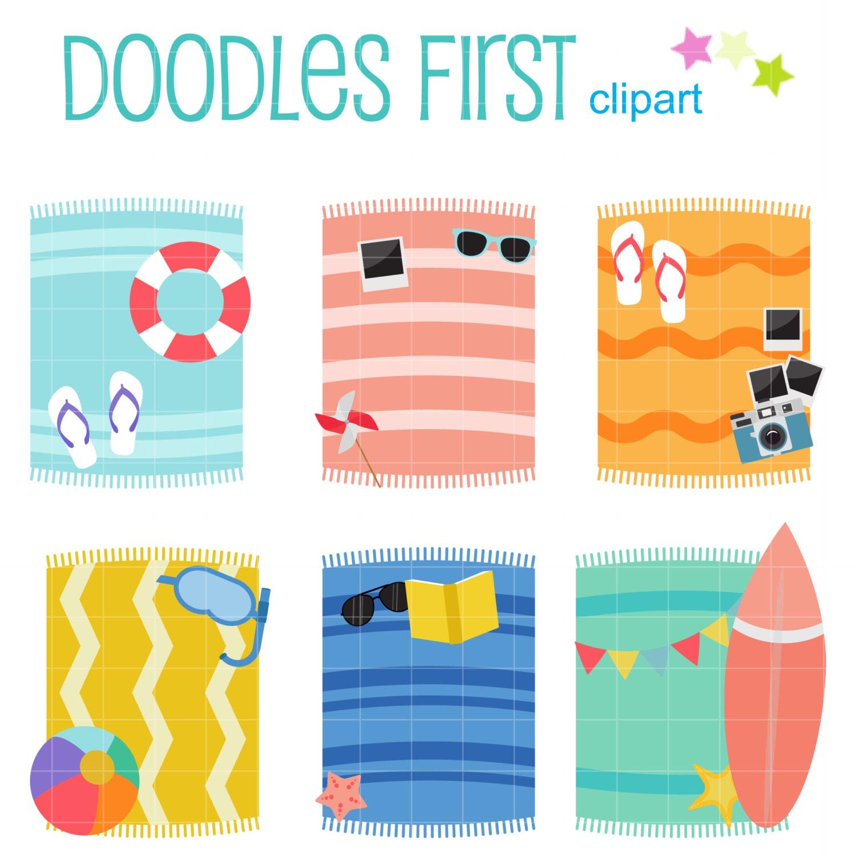 Clip Art Beach Blanket
