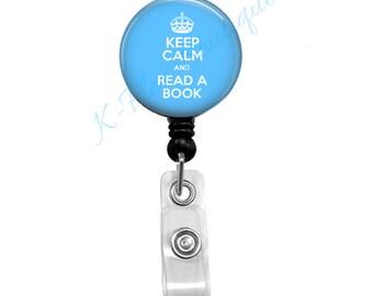 Keep Calm & Read A Book - Badge Reel