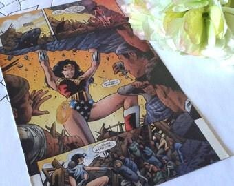 Made To Order - Wonder Woman Bi-Fold Wallet