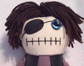 The Governor - Inspired by TWD - Creepy n Cute Zombie Doll (P&D)