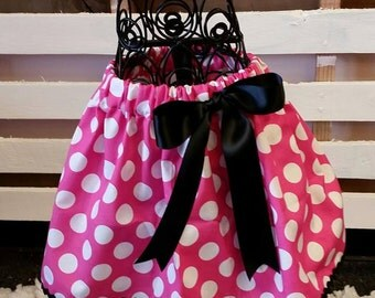 Minnie mouse inspired skirt.