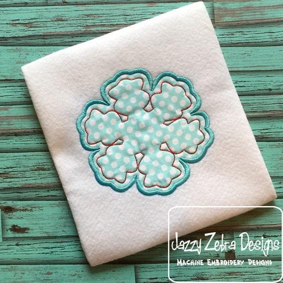 Snowflake 95 Appliqué Embroidery Design - snow flake appliqué design - snow appliqué design - winter appliqué design - snowflake appliqué