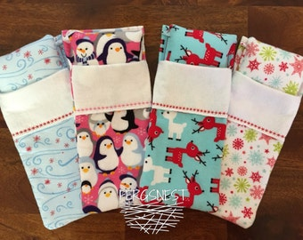 Elf Sleeping Bag and Pillow- Choose your Pattern!