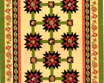 """Tapestry Manor Quilt Kit Lap Size 67"""" x 91"""""""