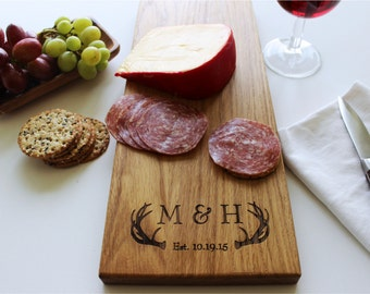 Cheese Board, Personalized Serving Tray, Serving Platter, Cutting Board, Christmas Gift, Wedding, Anniversary Gift, Boyfriend, Husband Gift