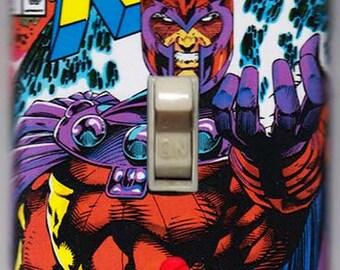 X-Men Light Switch Cover Plate - X-Men 1 Magneto Marvel Comics