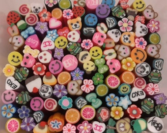 20pcs Polymer Clay Canes