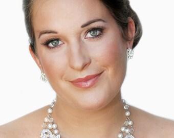 Nicole Bridal Lace Necklace