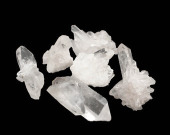 Raw Crystal Cluster - Small - Beautiful - Home Decor- Crystal Energy - Rough Crystals (RK97B1)