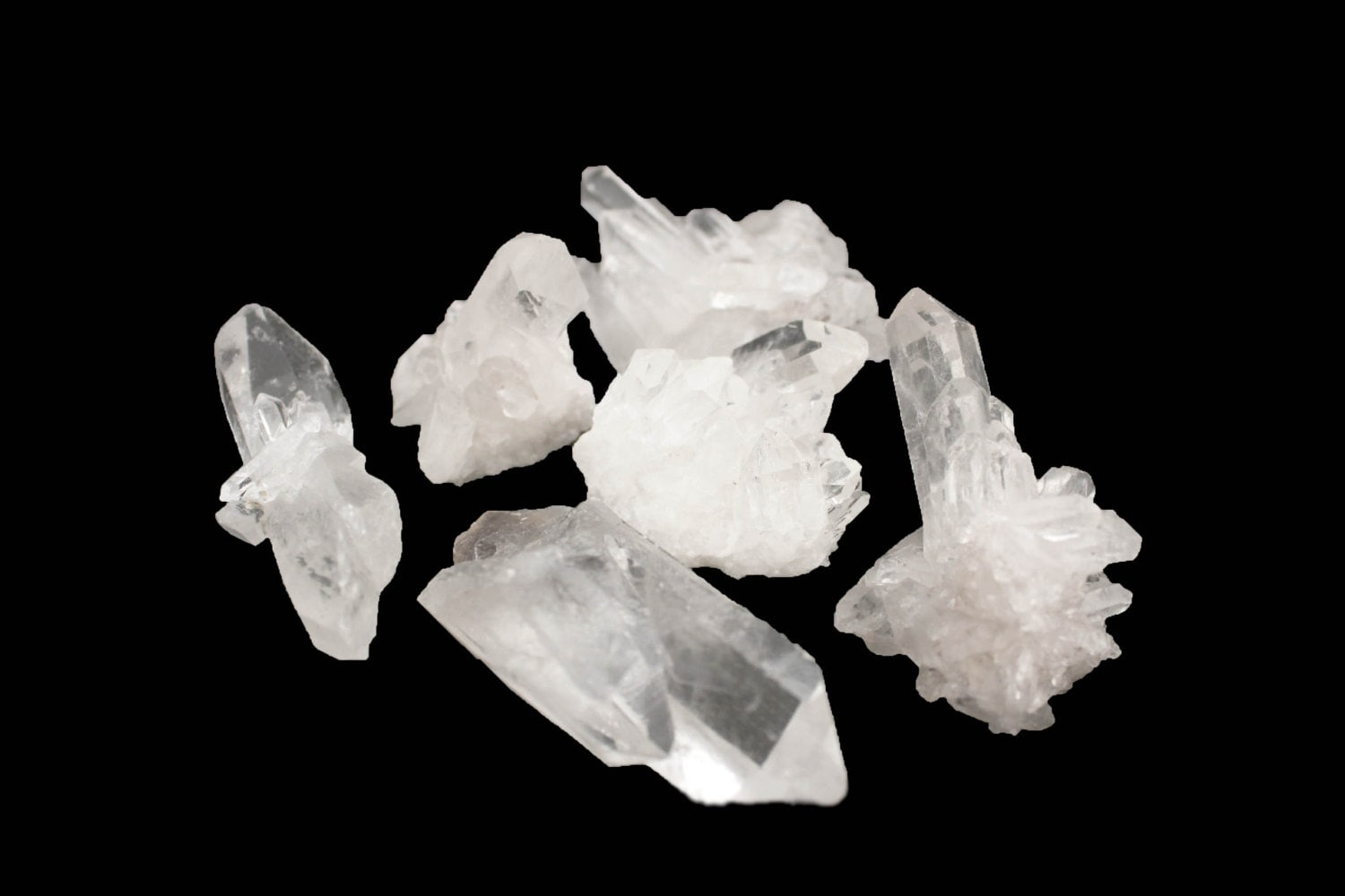 Raw Crystal Cluster Small Beautiful Home Decor Crystal