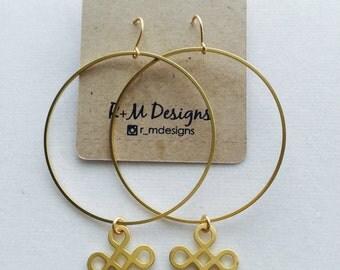 14kt gold filled hoop earrings