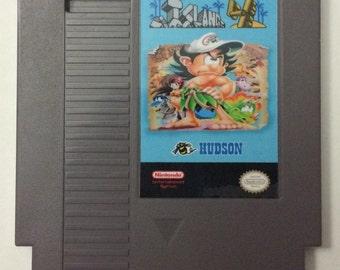 Adventure Island 4 NES - English Translation