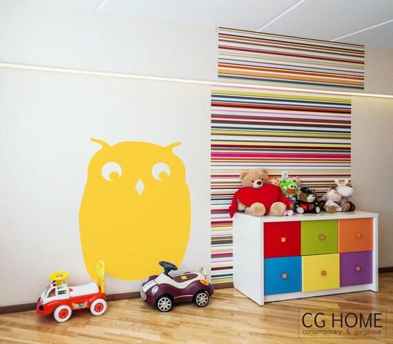 MRS OWL decal vinyl decoration Owl Washable Wall Protect Sticker Nursery Kid Room Decor Animals Housewarming Gift  wall decal vinyl sticker