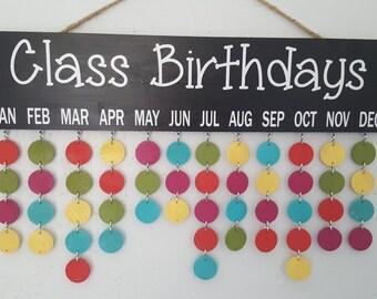 Teacher Classroom Birthday Boards w/ All Supplies Included