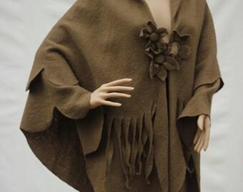 Womens Poncho womens cape coat Wool cape Women cape Winter cape Women clothing Maternity clothes plus size  clothing