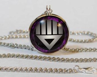 Handmade Black Lantern Pendant Necklace