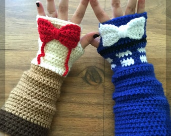 Doctor Who Inspired Matt Smith Arm Warmers